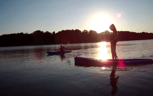 Sup Board, Kajak oder Kanu mieten bei Paddel Pit am Motzener See im Berliner Umland
