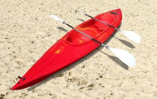 2er Kajak mieten in der Umgebung von Berlin am Motzener See bei Paddel Pit