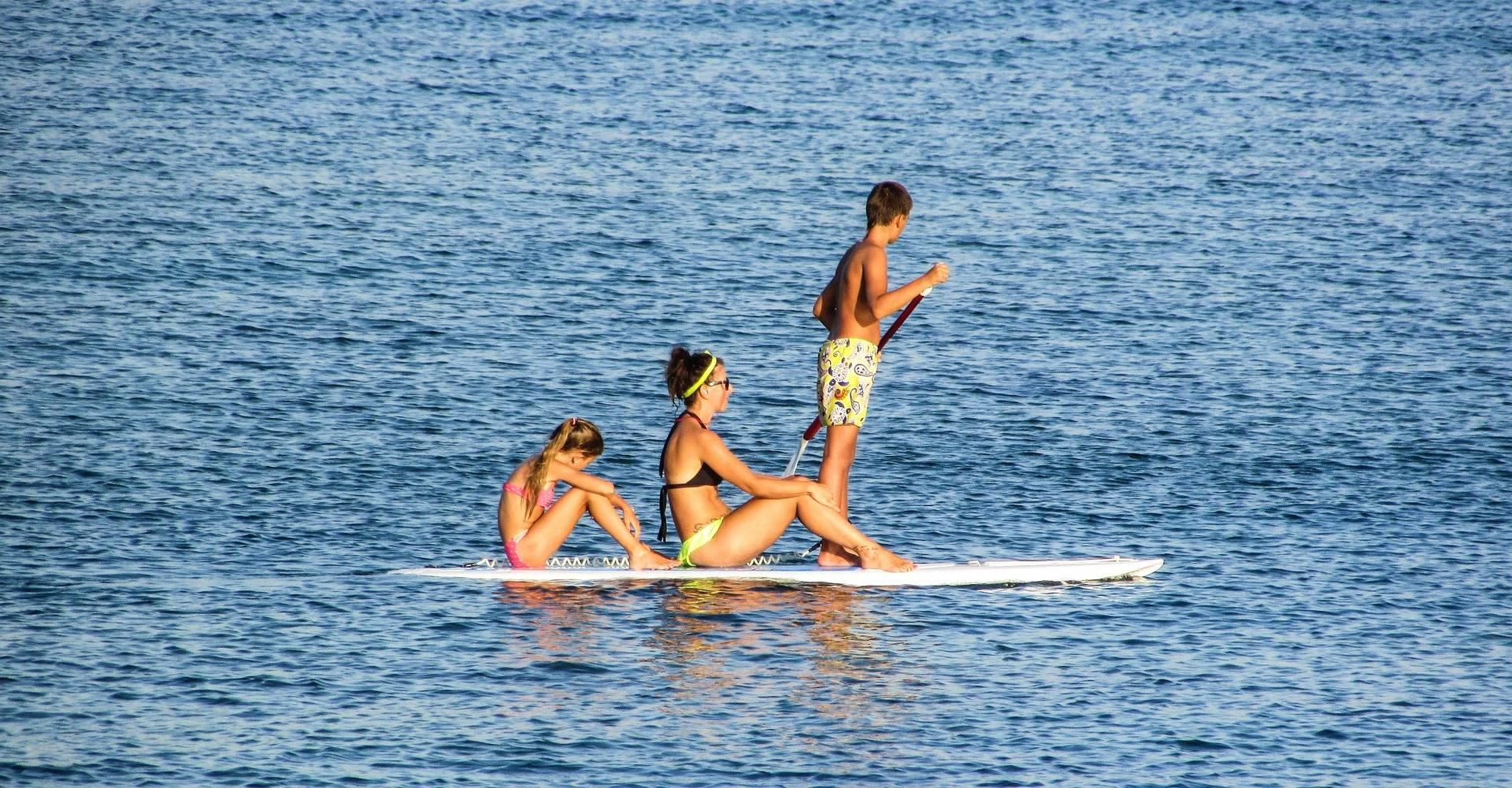 SUP Board mieten in der Nähe von Berlin in Motzen am Motzener See bei Paddel Pit