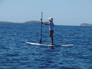 SUP Board, Stand Up Paddling, höhe des Paddels richtig einstellen