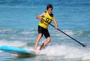 SUP Board, Stand Up Paddling, Wellenreiten, surfen mit SUP, Longboard