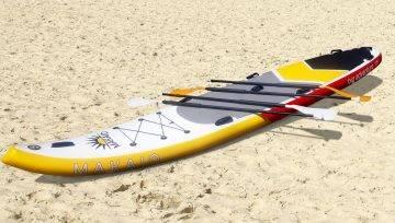 Neu eingetroffen: Big SUP Board von Makaio !