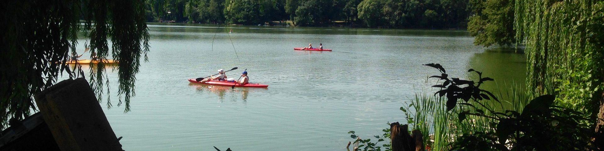 Paddel Pit Bootsverleih und SUP Verleih bei Berlin am Motzener See im berliner Umland