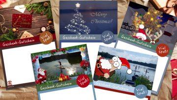 Geschenk-Gutschein zu Weihnachten verschenken